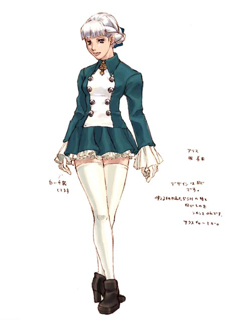 Alice Shadow Hearts Covenant Concept Art