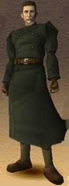Ben Hyuga Shadow Hearts 3D Render