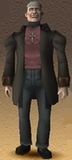 Father Doyle Shadow Hearts 3D Render