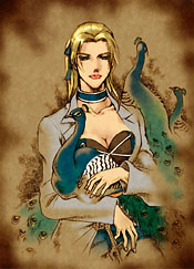 Margarete Gertrude Zelle Official Art Shadow Hearts