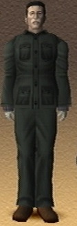 Seiji Kato Shadow Hearts 3D Render