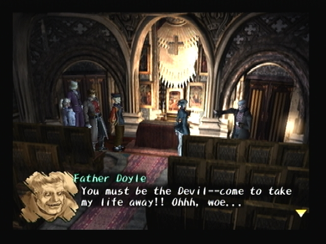 Father Doyle Rouen Church Shadow Hearts