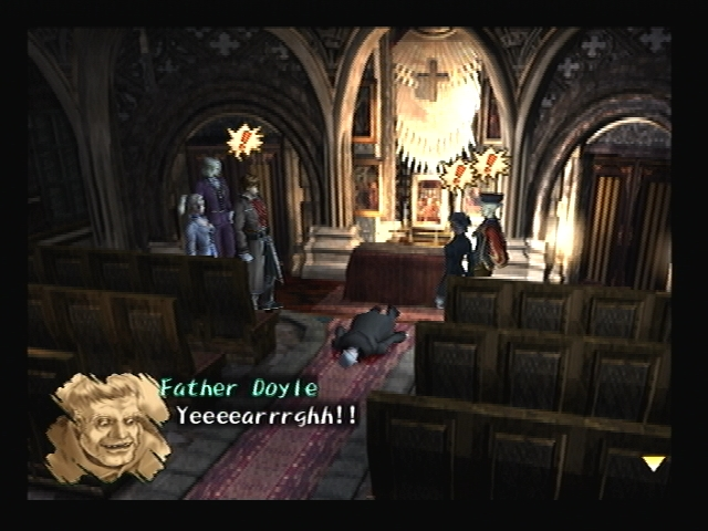 Father Doyle death shadow hearts
