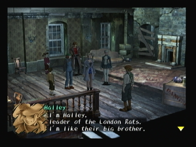 Halley Introduction Shadow Hearts