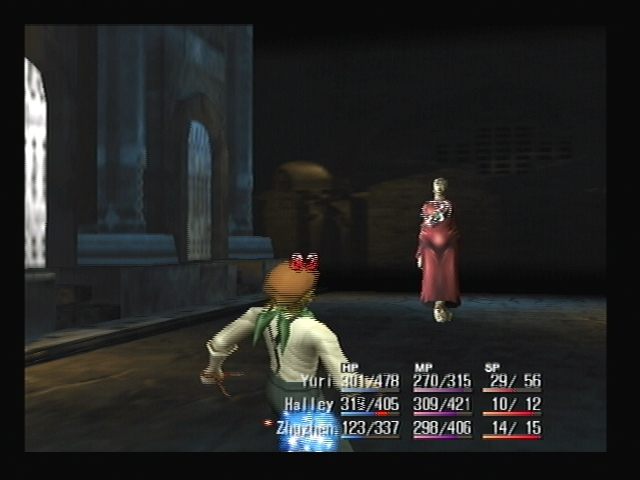 Rausan Boss Battle Shadow Hearts Attack