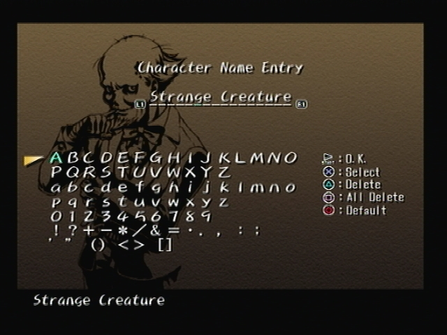 Roger Bacon Name Screen Shadow Hearts