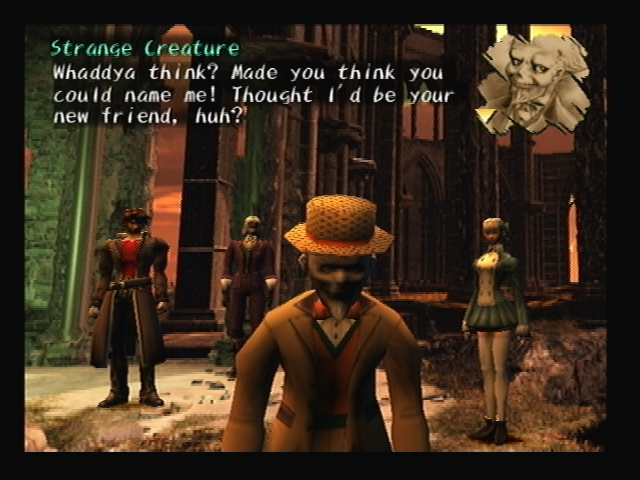 Roger Bacon 4th Wall Break Shadow Hearts