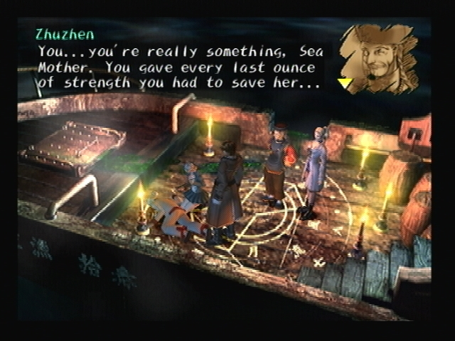 Sea Mother Death Shadow Hearts