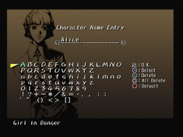 Alice Elliot Name Shadow Hearts