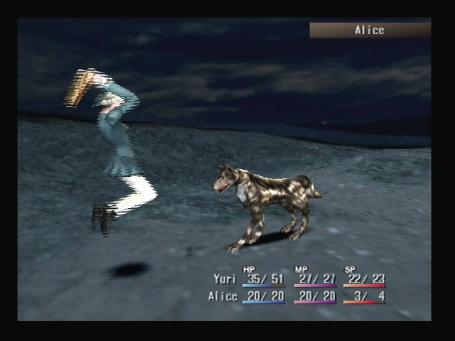 Alice Battle Shadow Hearts
