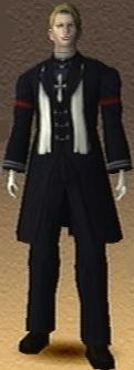 Viscount Rausan Shadow Hearts 3D Render