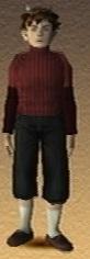 Young Yuri Hyuga Shadow Hearts 3D Render