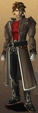 Yuri Hyuga Shadow Hearts 3D Render