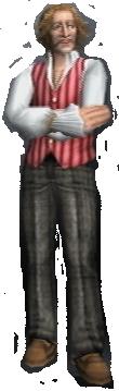 Gerard Magimel Hyuga 3D Shadow Hearts Covenant