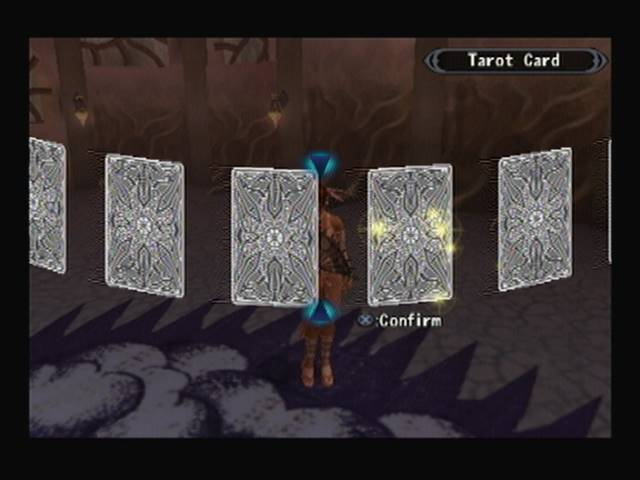 Lucia Tarot Card Shadow Hearts Covenant