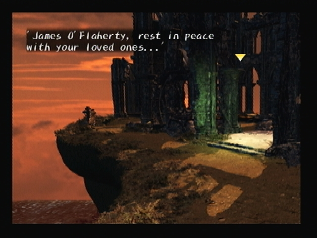 James O'Flaherty Gravestone Shadow Hearts