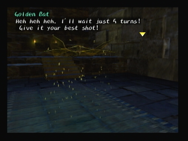 Golden Bat Battle Shadow Hearts Turn Limit