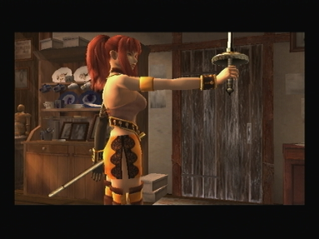 Karin rapier Shadow Hearts Covenant