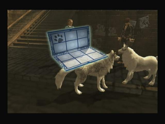 Blanca stamp card Shadow Hearts Covenant
