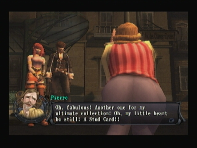 Pierre Magimel behind Shadow Hearts Covenant