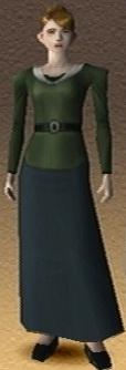 Anne Hyuga Shadow Hearts 3D Render