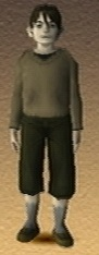 Joshua Shadow Hearts 3D Render