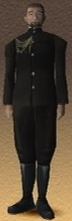 Ken Suketani Shadow Hearts 3D Render