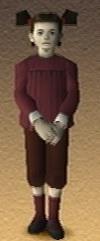 Sharon Shadow Hearts 3D Render