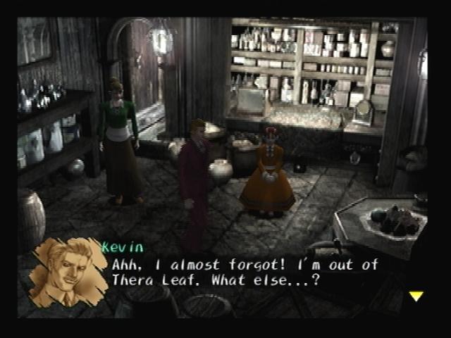 Kevin Shop Shadow Hearts