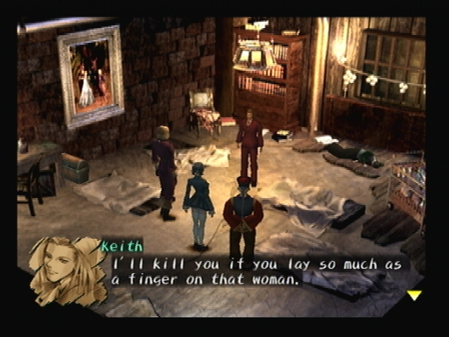 Michelle Kidnapped Shadow Hearts