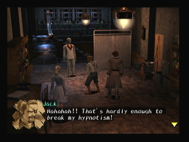 Chris experiment Shadow Hearts