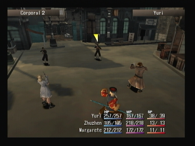 Corporal Shadow Hearts Battle