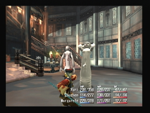 Mournful Demon Attacking Shadow Hearts
