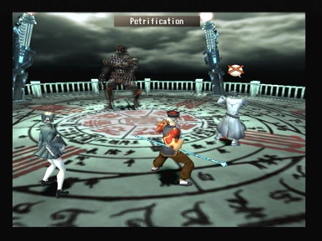 Petrification Yamaraja Calamity Shadow Hearts
