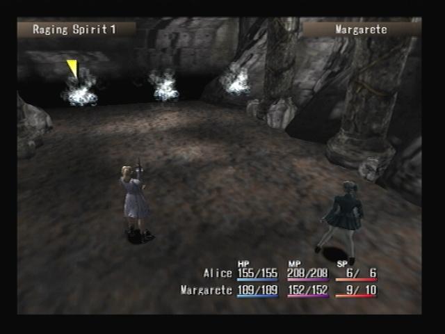 Raging Spirit Battle Shadow Hearts