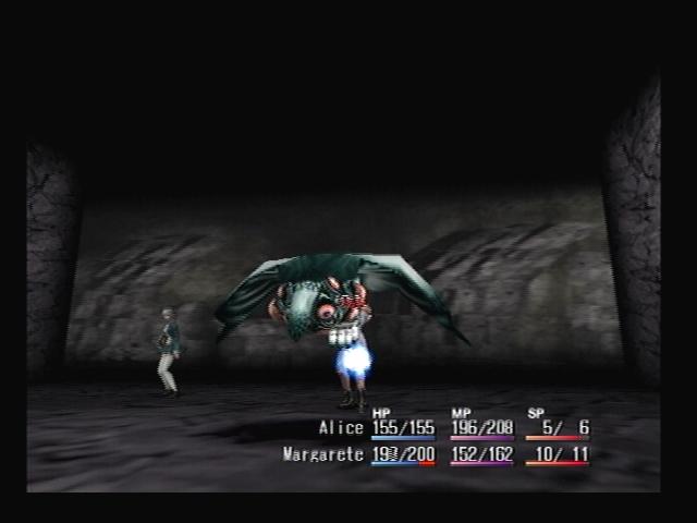 Baigu Attacks Shadow Hearts