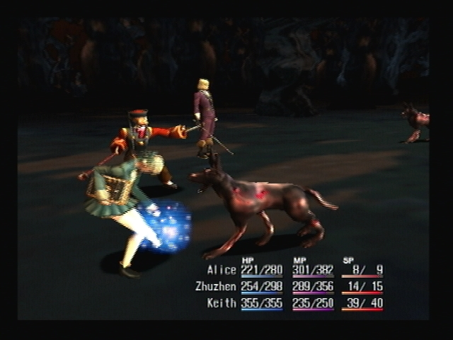 Garm Attack Shadow Hearts