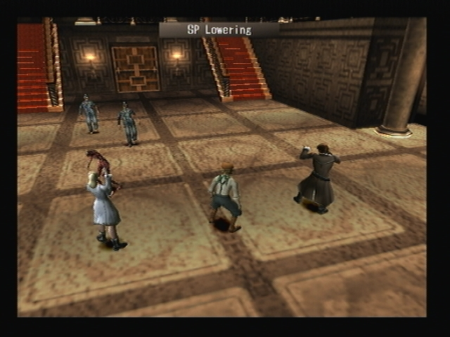 Banshee SP Lowering Shadow Hearts