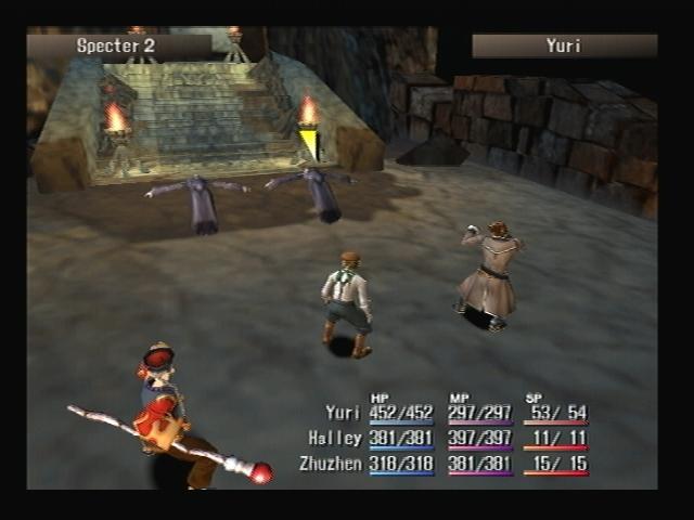 Specter battle Shadow Hearts
