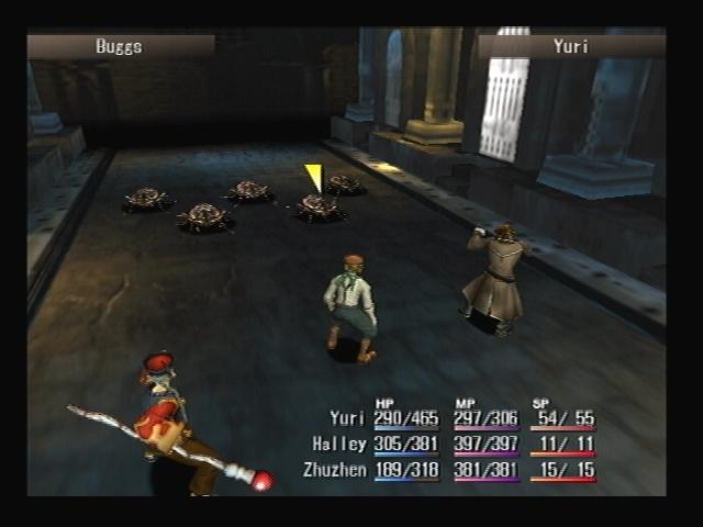 Buggs Battle Shadow Hearts