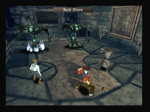 Sweeper Rock Storm Shadow Hearts