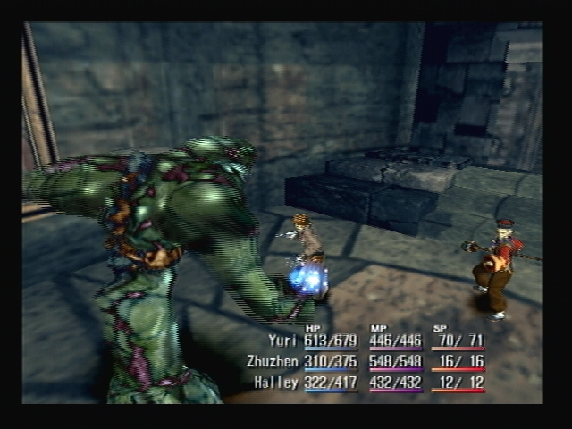 Sweeper Attack Shadow Hearts