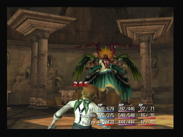 Seraphim Attack Shadow Hearts