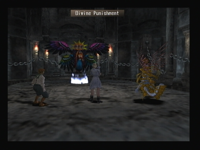 Cherubim Divine Punishment Shadow Hearts