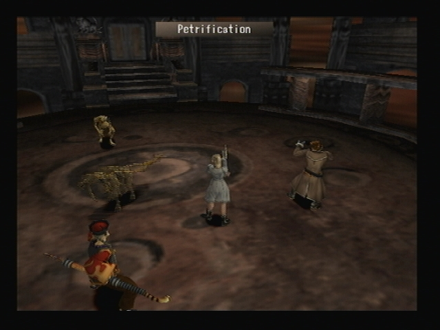 Cockatrice Petrification Shadow Hearts