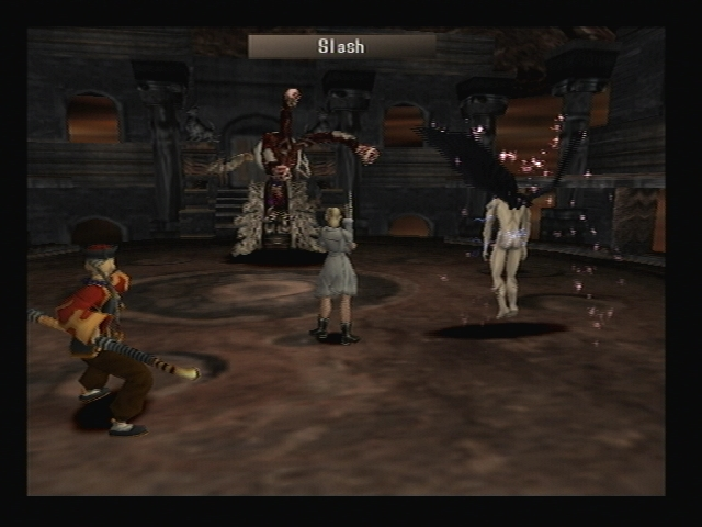 Scapegoat using Slash Shadow Hearts
