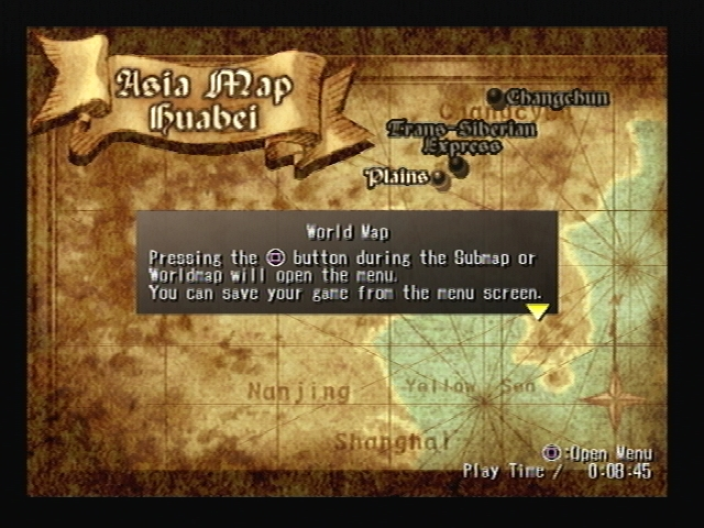 Plains World Map Shadow Hearts