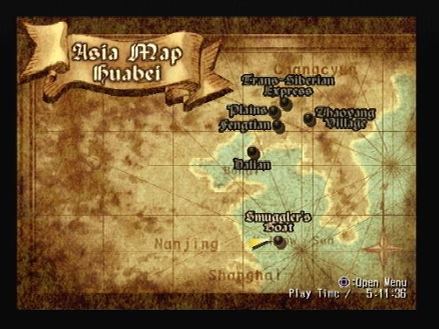 Smugglers Boat Map Shadow Hearts