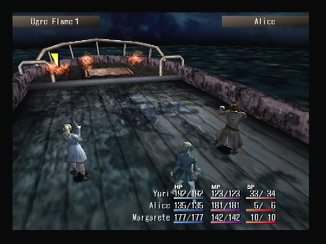 Battle Smugglers Boat Shadow Hearts