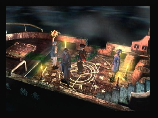 Pentagram Smugglers Boat Shadow Hearts